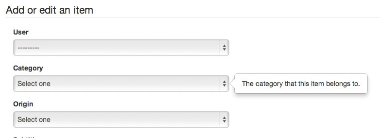 Displaying Django Form Field Help Text In A Bootstrap 3 Popover